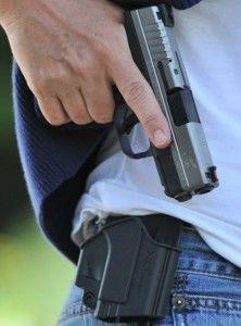 Krátké zbraně jsou ideální i na sebeobranu