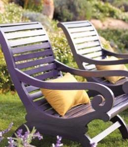 Oblíbené materiály pro zahradní nábytek